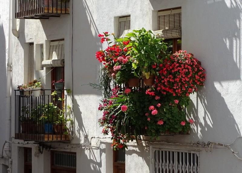 Apartment Balcony Garden.