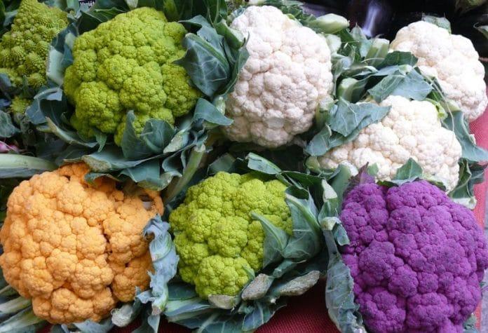 Container Cauliflower Gardening.