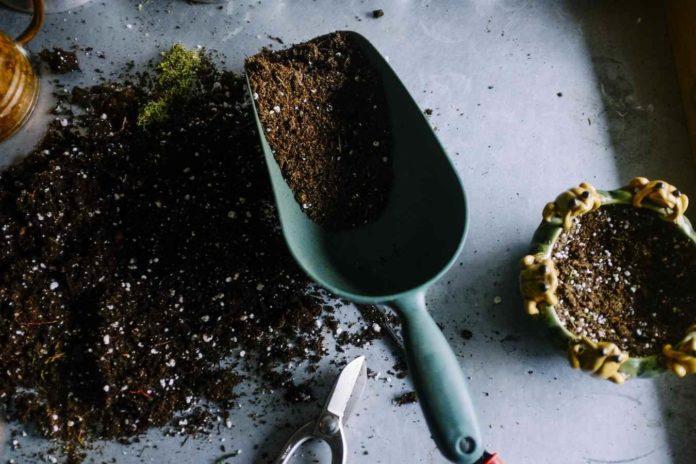 Potting Soil Mix for Vegetables.